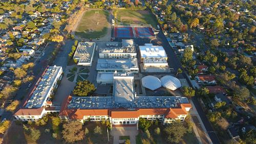 Marshall Overhead View