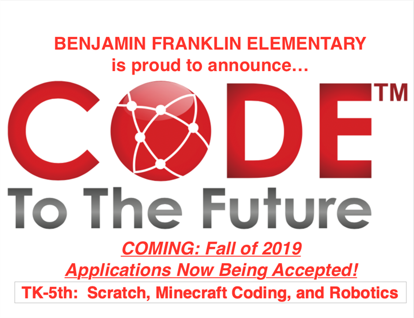 Franklin Computer Science Immersion 2019-20: Code to the Future (click for video)
