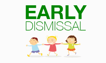 December 21st (Thursday) - Early Dismissal at 12:50 pm!