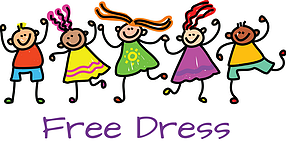 Free Dress for the Rest of the School Year!