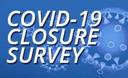 Covid-19 Survey results button