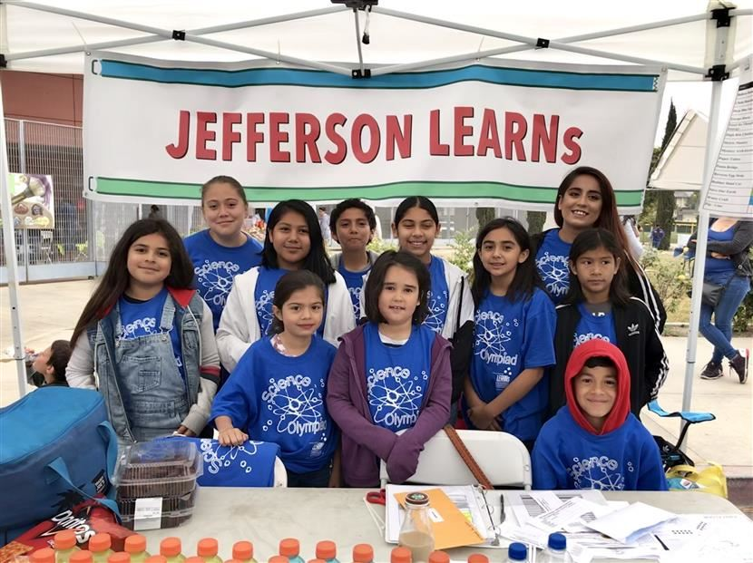Jefferson LEARNs Science Olympiad Third Place Winners!