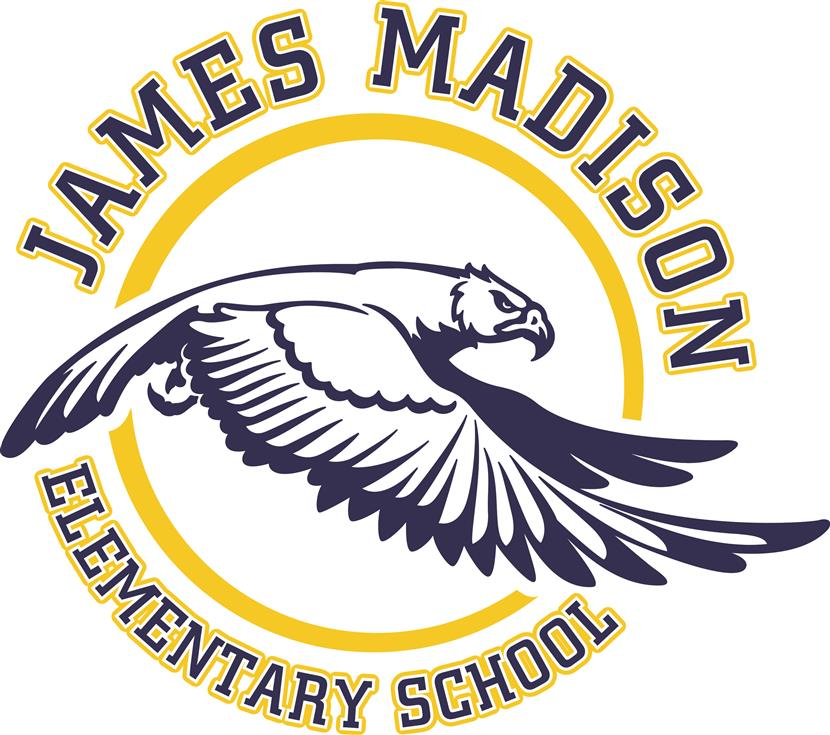 Madison Elementary Logo with eagle