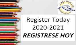 Register Today/ REGISTRESE AHORA