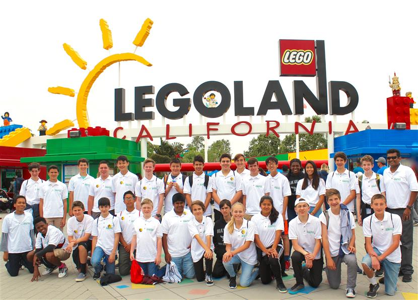 Robotics at LegoLand