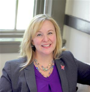 Photograph of Dr. Benita Scheckel, Principal