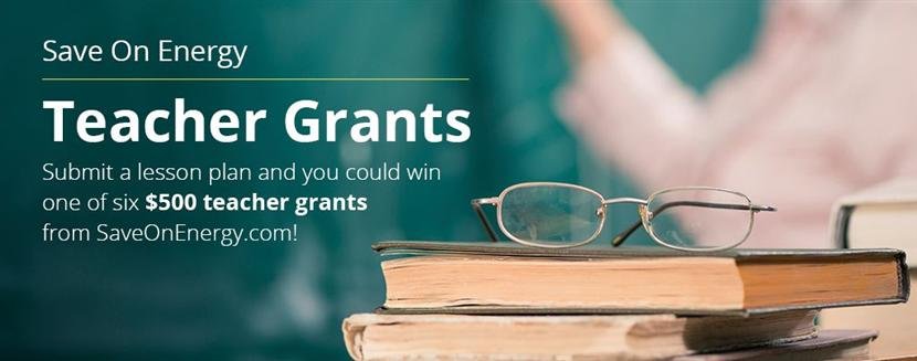 Save On Energy Teacher Grant
