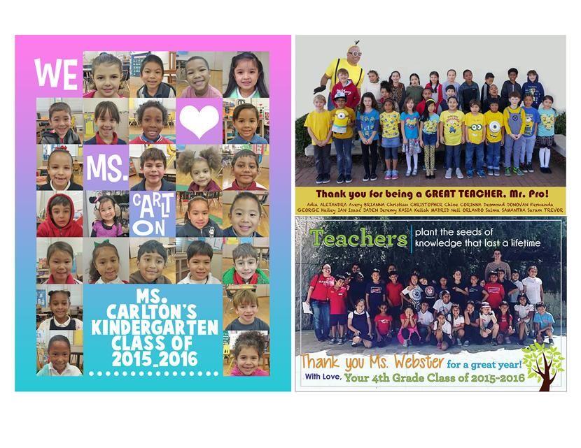 Yearbook / Sample Teacher Dedications