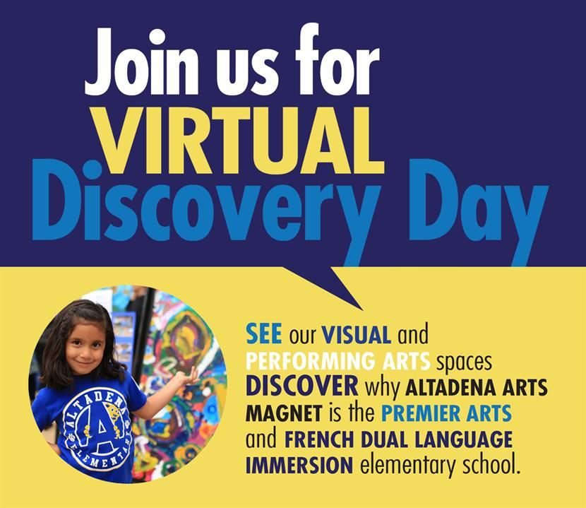 Virtual Discovery Day