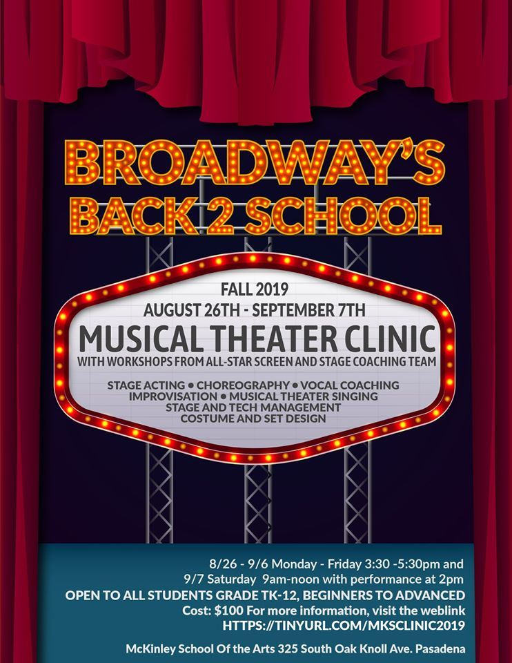 Musical Theater Clinic 2019