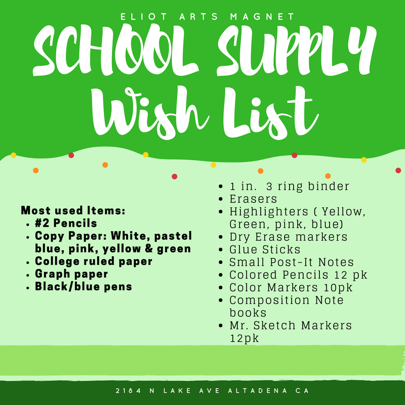 What school supplies will my child use most? What supplies are on teachers' wish lists?