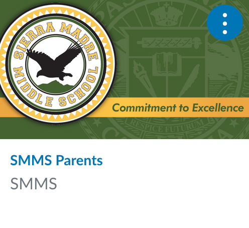 SMMS Parents Canvas Page Link