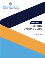 Cover of School Opening Guide