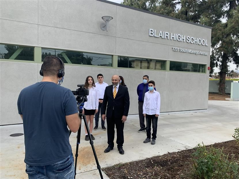 Armenian Academy Students and Staff Recording for the 2020 Armenia Fund Telethon