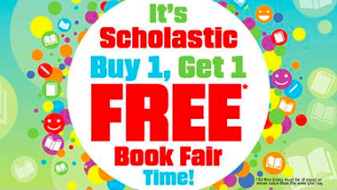 Scholastic Book Fair at WSMA this week!