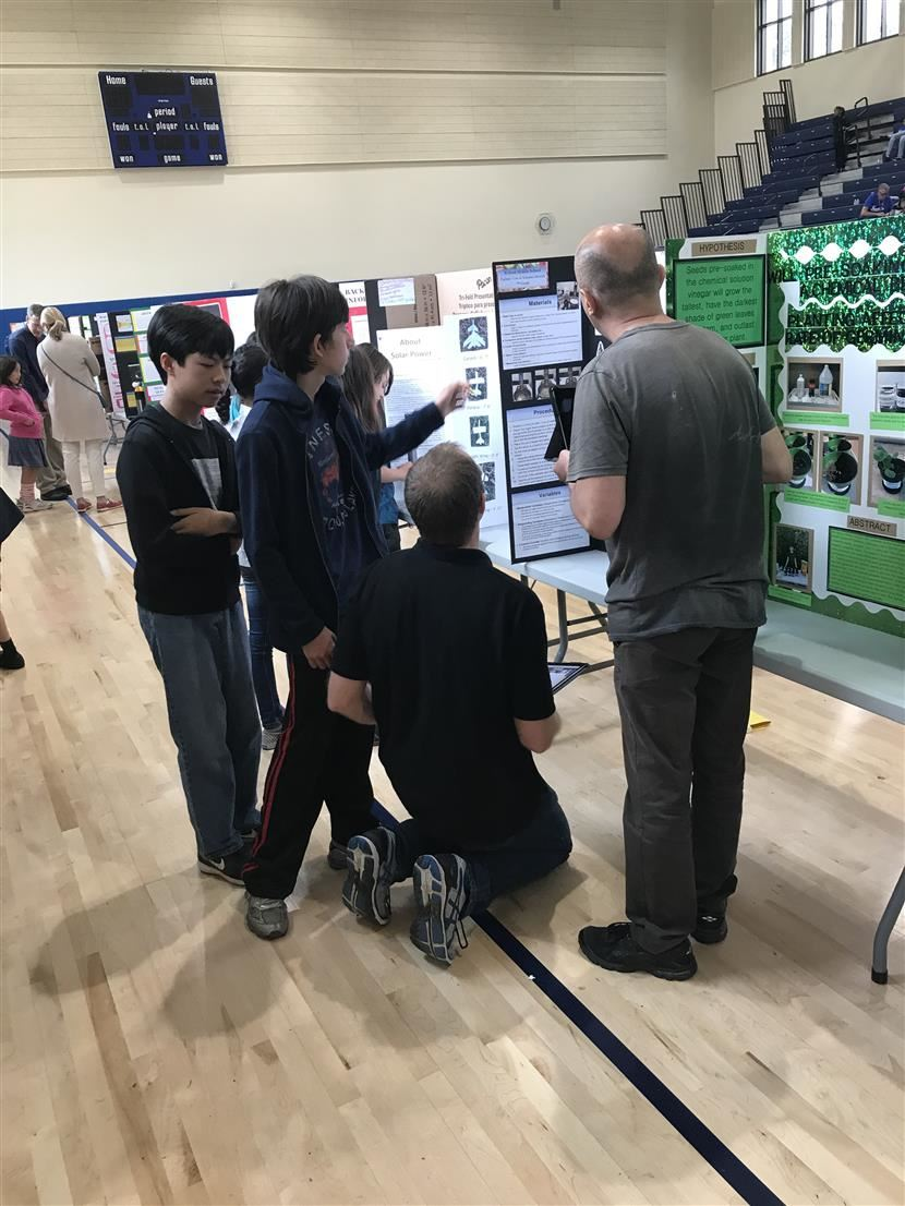 Wilson did Great at the 2018 Innovation Exposition!