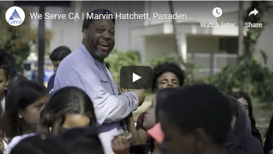 CalPERS We Serve story on Marvin Hatchett and the Wilson Family