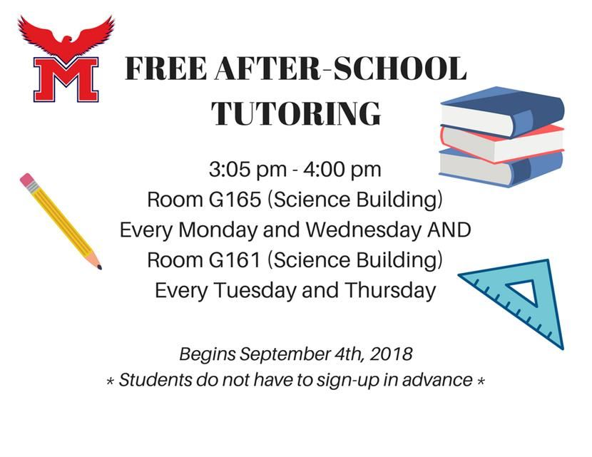 Free After-School Tutoring