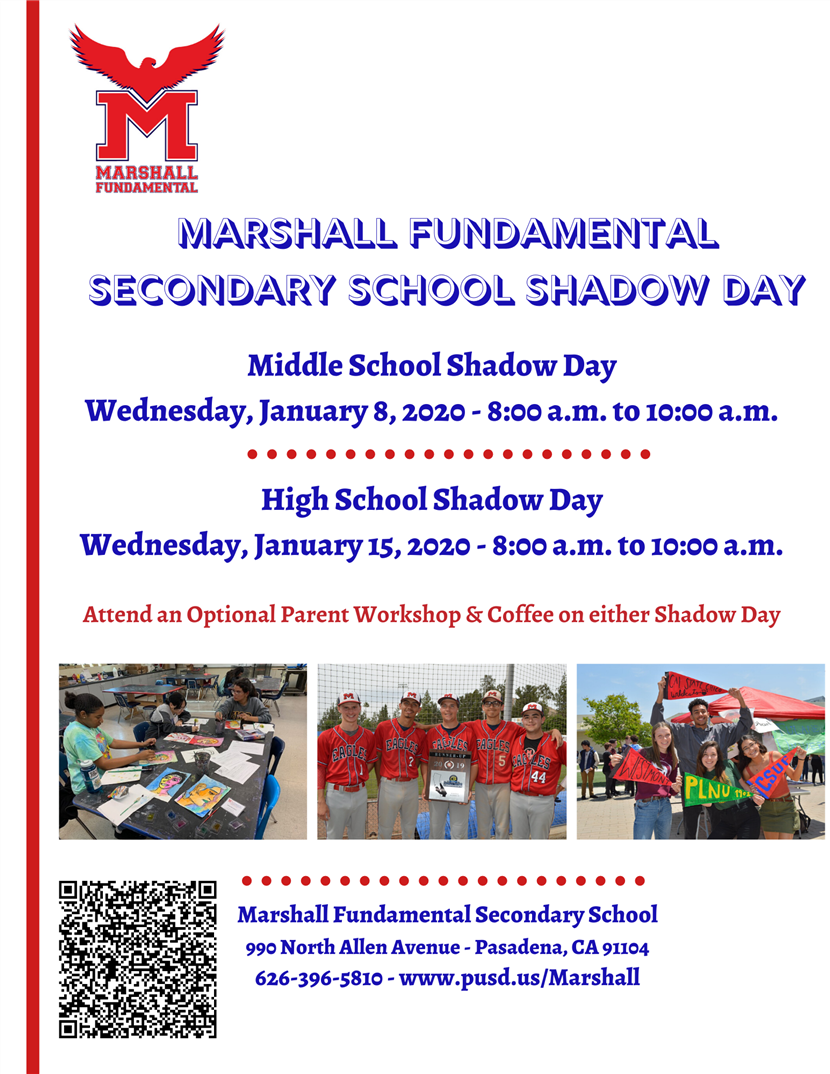 Marshall Fundamental Shadow Day