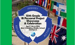 Attend IB MYP Personal Project Showcase