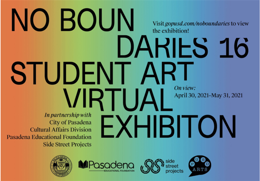 The 16th annual No Boundaries Student Art Exhibition is virtual
