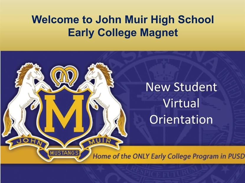 New Student Virtual Orientation
