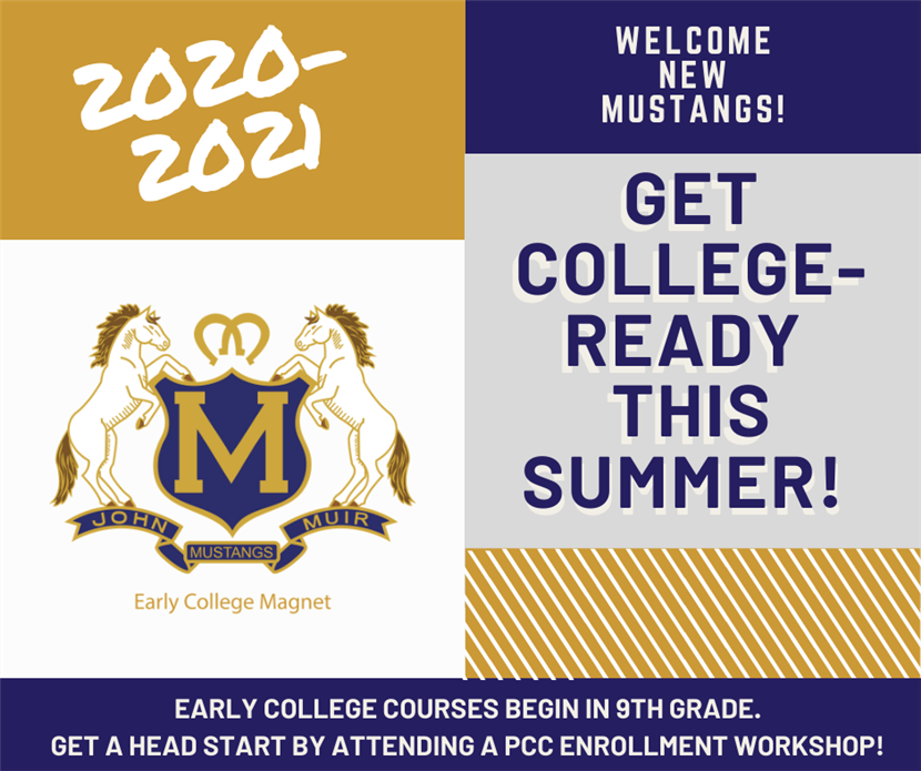 New Students: Take an Early College Readiness Workshop This Summer!
