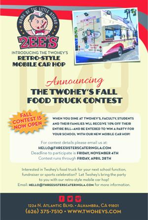 Twohey's Fall Food Truck Contest