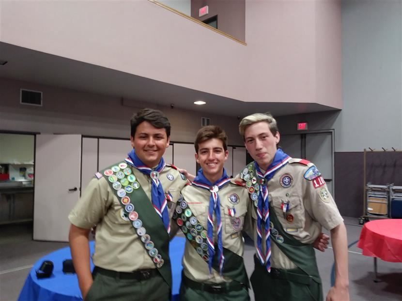PHS Students Achieve Eagle Scout Rank