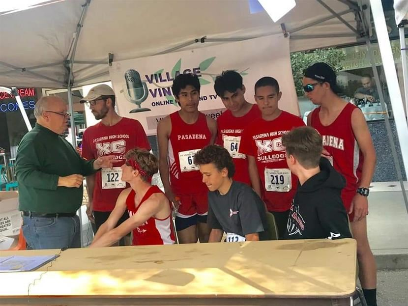PHS Students and Staff Run in the Mt Wilson Trail Race