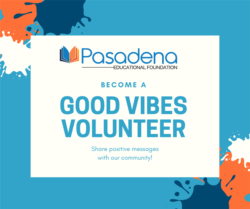 PEF Good Vibes Volunteer
