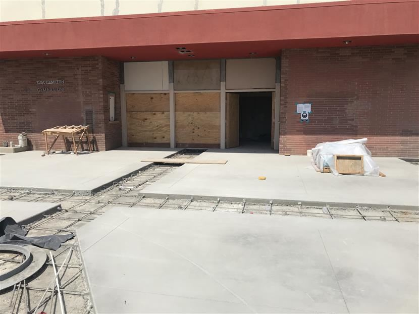 Hamilton Gym Construction Update