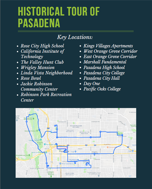 Historical Tour of Pasadena