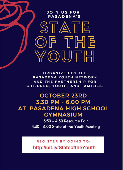 Pasadena Youth Network Presents the State of the Youth