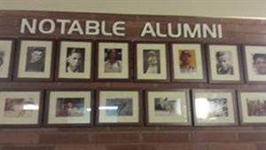 Photographs of Notable Alumni