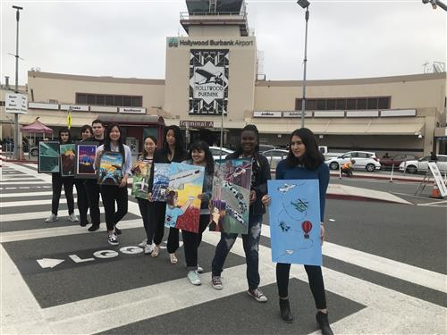 Hollywood Burbank Airport Banner Contest Winners