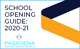 2020-21 School Opening Guide graphic