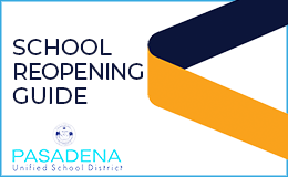 PUSD  PreK-5 Reopening Guide