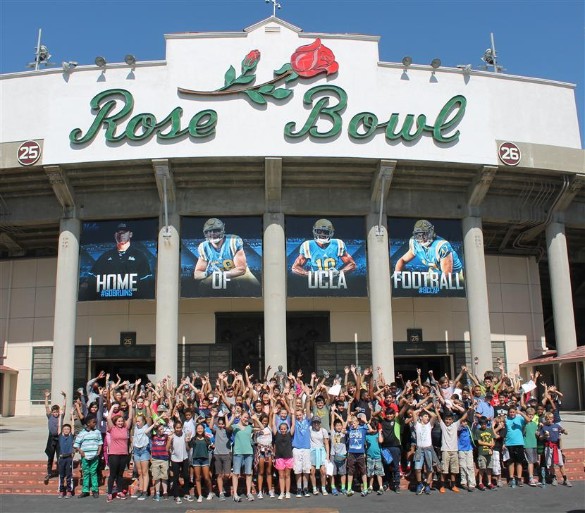 7th Grade Field Trip to the Field…at the Rose Bowl!