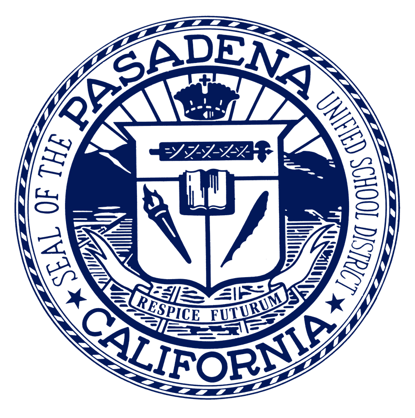 A picture of the round PUSD seal in dark blue