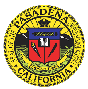 A picture of the Pasadena Unified School District Seal