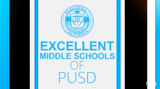 The Excellent Middle Schools of PUSD