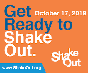 Great Shakeout is October 17