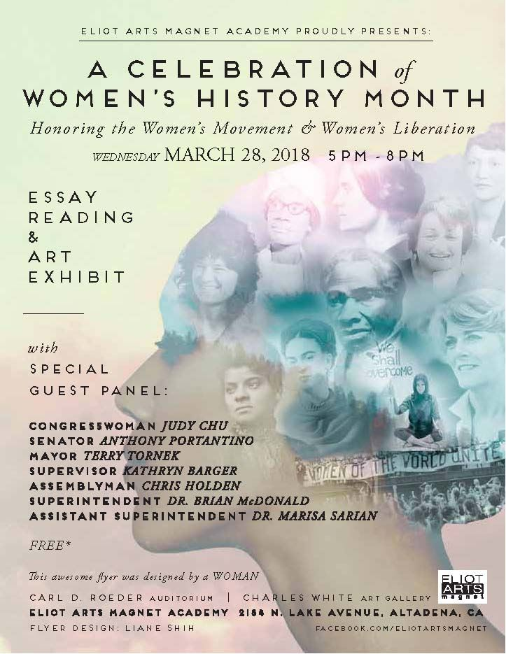 PUSD Celebrates Women's History Month