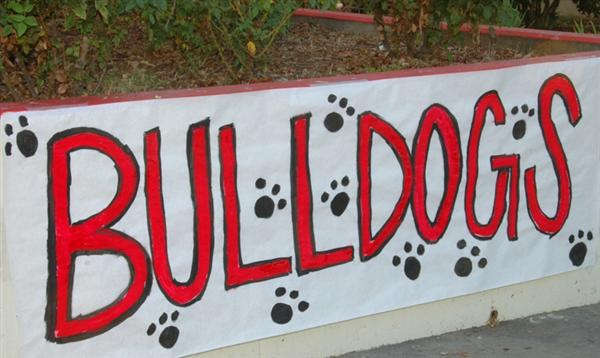 Bulldog Sign