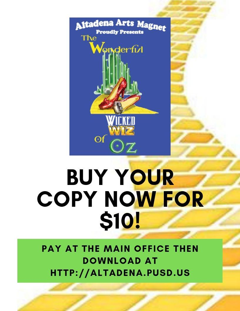 Purchase The Wonderful Wicked Wiz of Oz!