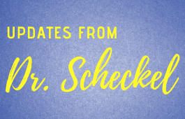 Check here for the latest remote learning and COVID-19 updates from Dr. Scheckel
