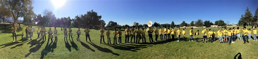 Picture of Wilson Band at the park