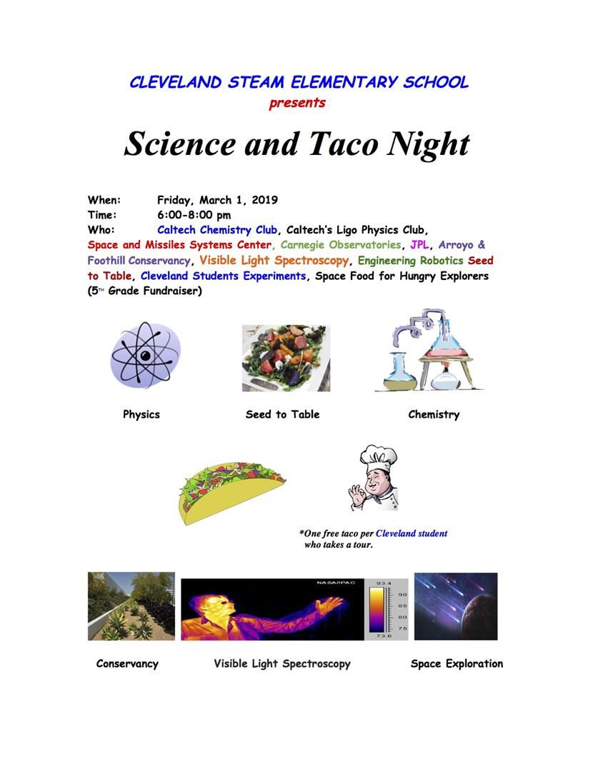 Cleveland Science and Taco Night