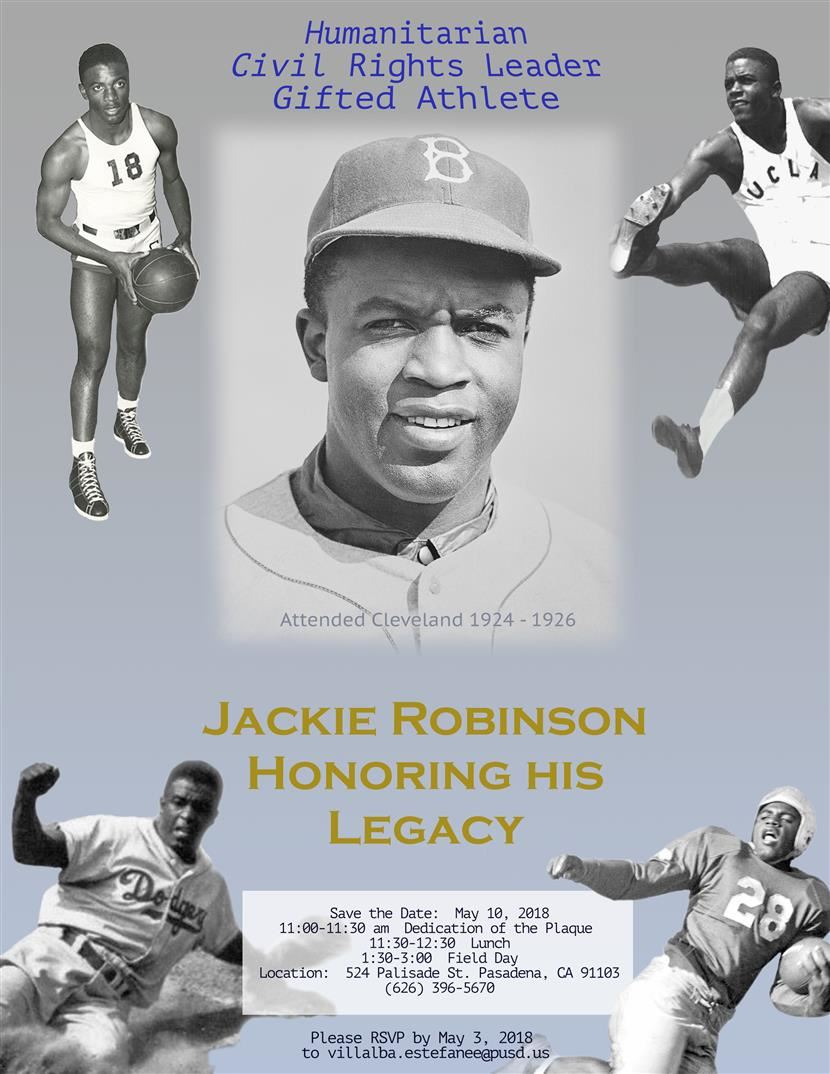Jackie Robinson Day @ Cleveland STEAM Elementary School